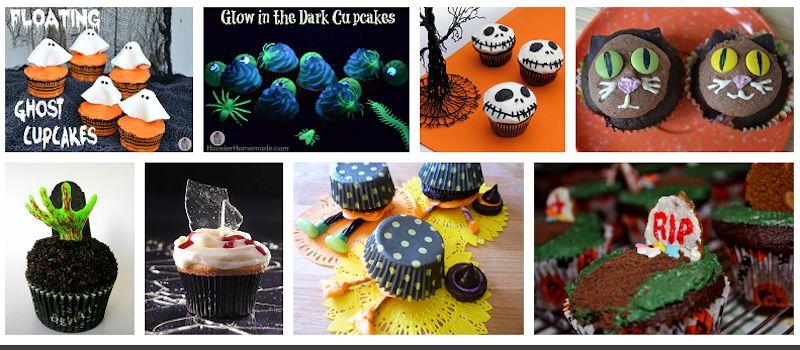ideas for Halloween cupcakes