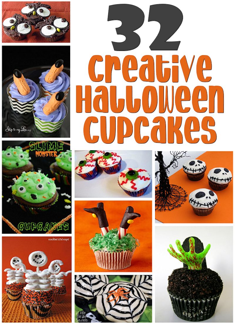32 Creative Halloween Cupcake Recipes