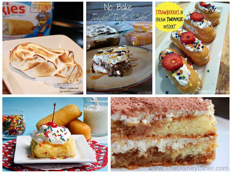 fancy twinkie desserts