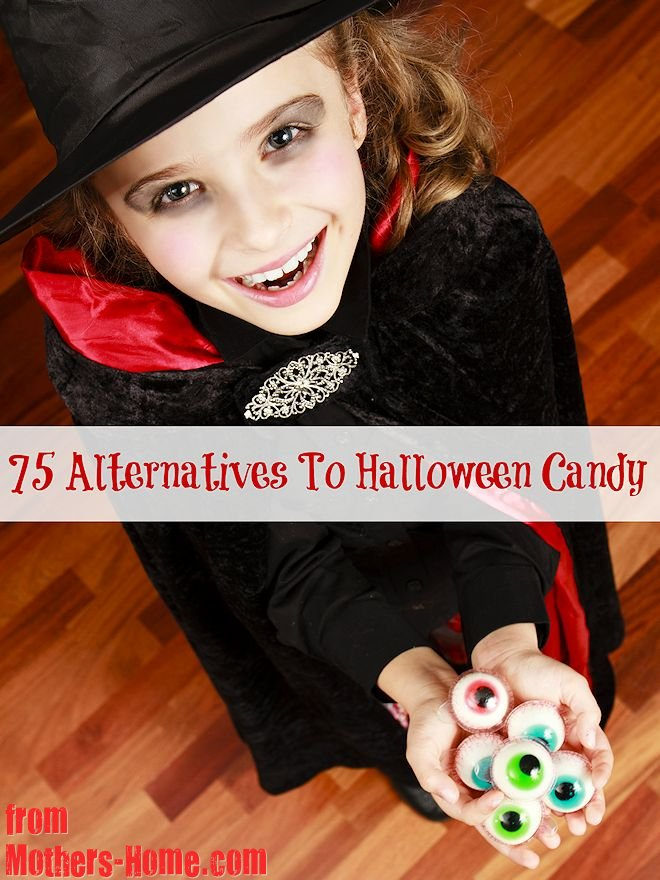 75 alternatives to halloween candy