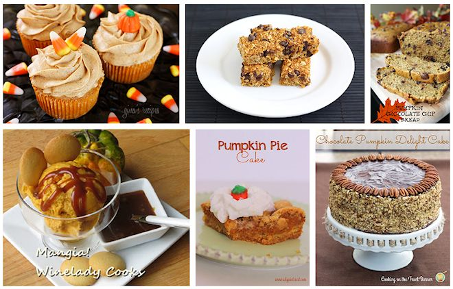 recipes for using pumpkin
