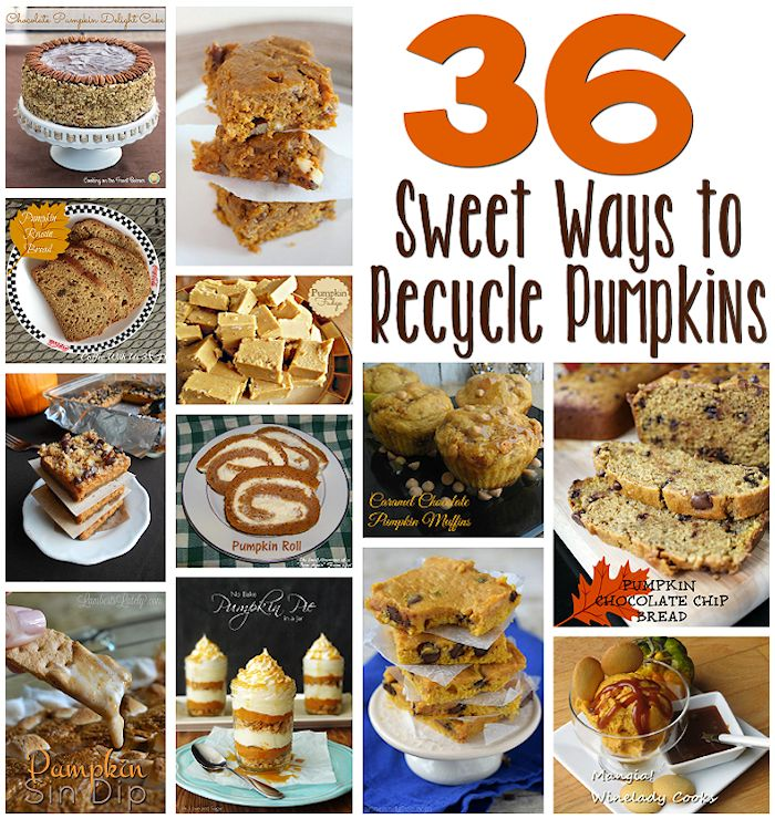 36 Sweet Ways to Recycle a Pumpkin