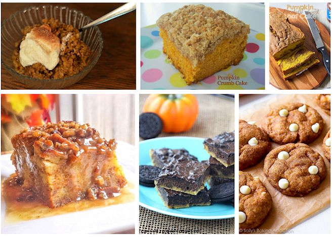 treats to make with pumpkin