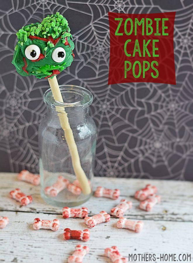 Zombie Cake Pops Recipes