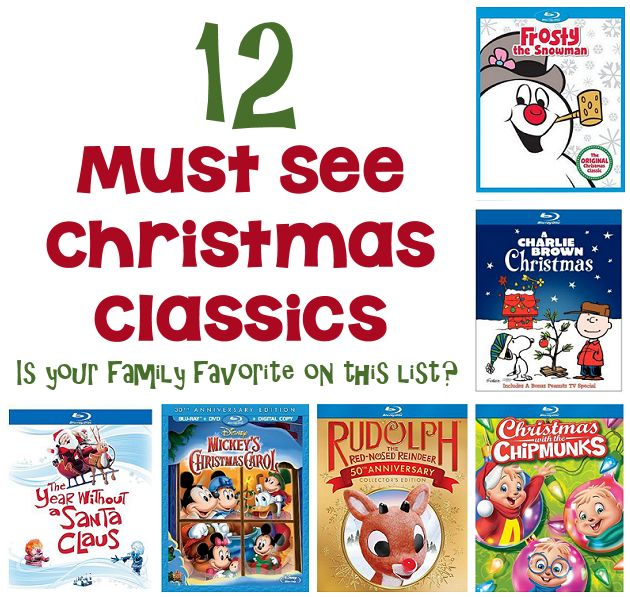 12 must see christmas classics for kids