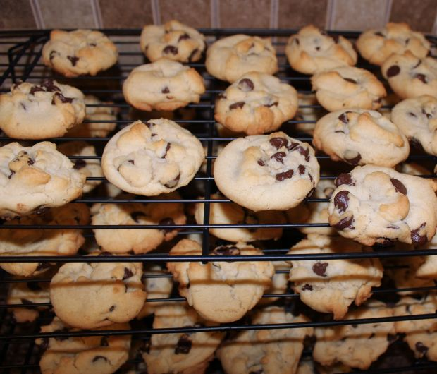 place cookies on a cooling rack