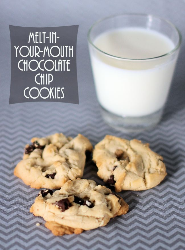 Melt-in-Your-Mouth Chocolate Chip Cookies Recipe