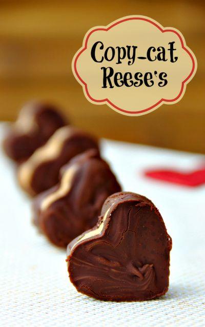 CopyCat Reese's Peanut Butter Cups