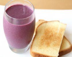 Healthy Blackberry Shake