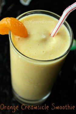 18 – Orange Creamsicle Smoothie from It's Yummilicious