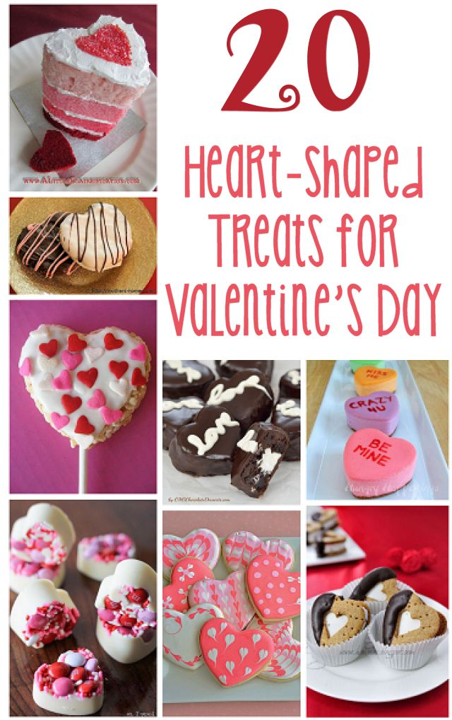 20 Heart-Shaped Treats for Valentine's Day