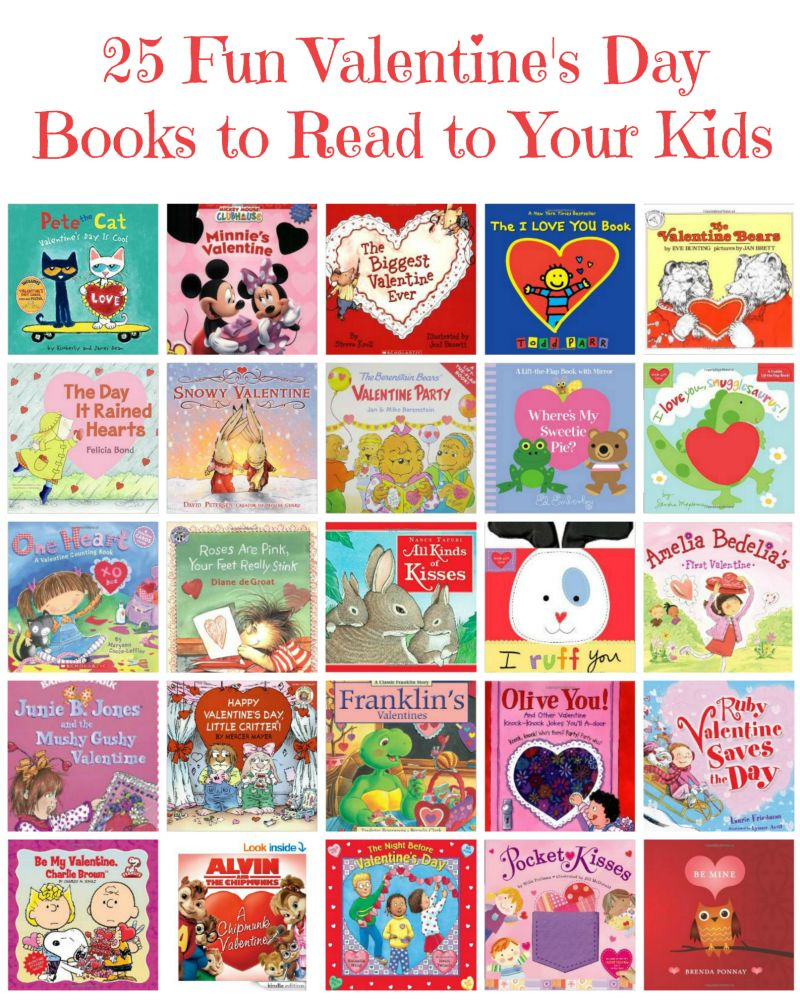 25 Fun Valentine's Day Books for Kids