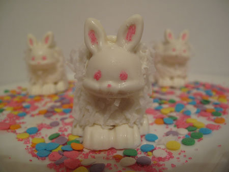 Marshmallow White Chocolate Easter Bunnies