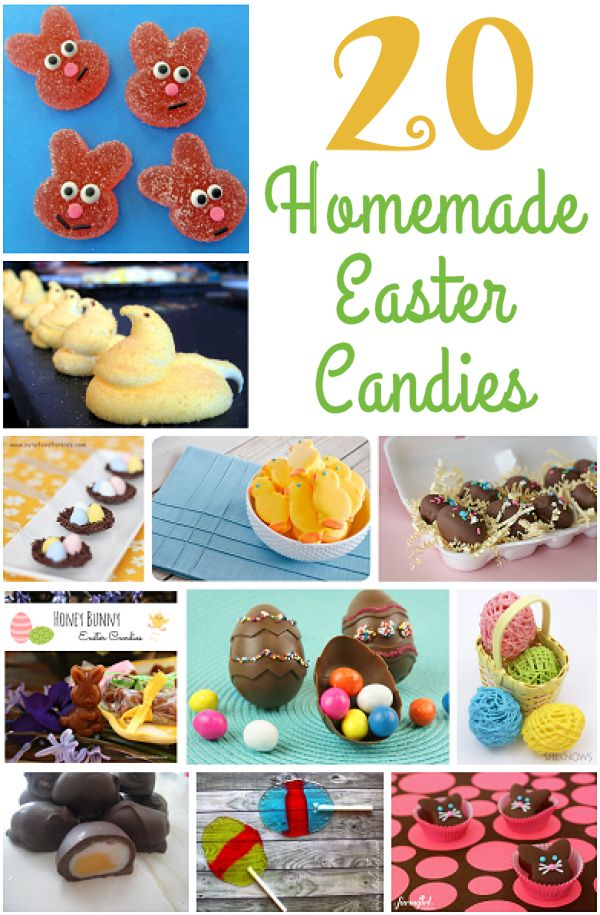 20 Homemade Easter Candies