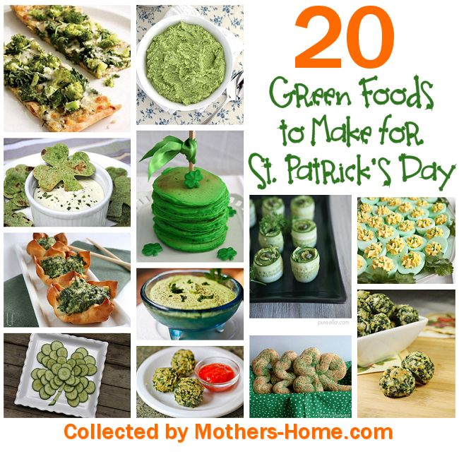 25 Green Foods for St. Patrick's Day