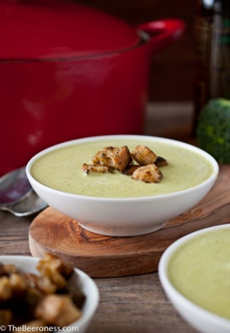 Green Beer Cheese Soup