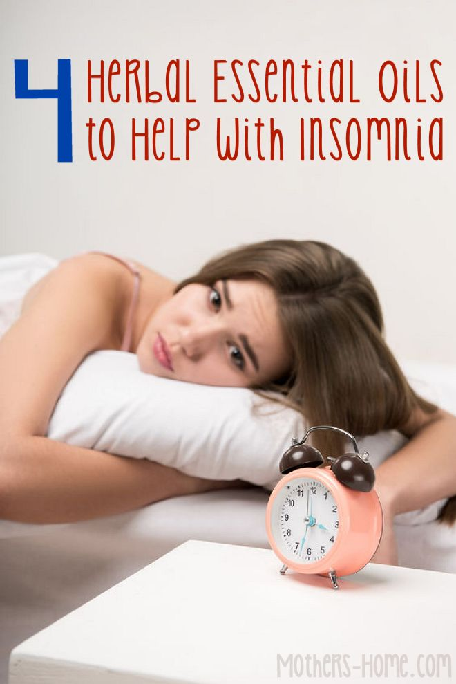 4 Herbal Essential Oils to Help with Insomnia