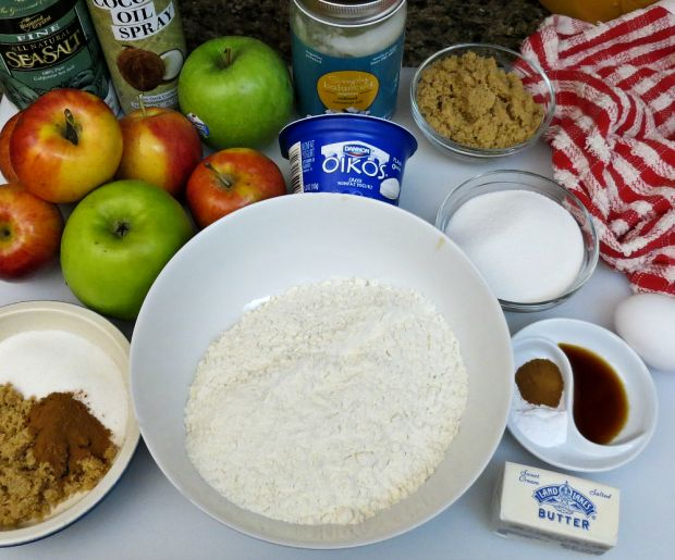 Fresh Apple Cinnamon Cake - Ingredients