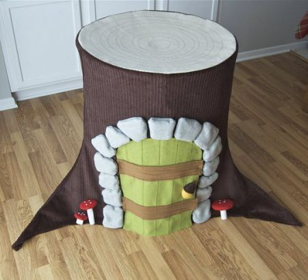 DIY Gnome Home Playhouse