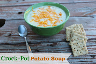 Really Easy Crock Pot Potato Soup